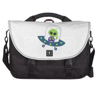Space Alien Commuter Bag