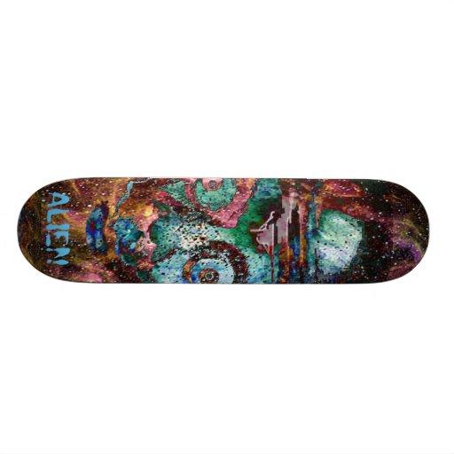 Space Alien Nebula Punk board