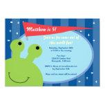 """Space Alien Party Invite 5"""" X 7"""" Invitation Card"""