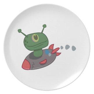 Space Alien Plates