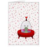 Space Alien Valentine Card