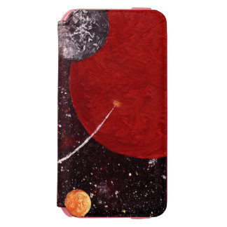 SPACE (an outerspace design) ~ iPhone 6/6s Wallet Case