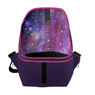 Space and stars bag courier bags