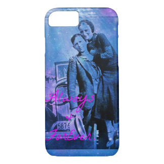 space and stars bonnie and clyde iPhone 7 case
