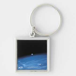 Space and the Earth Key Chains
