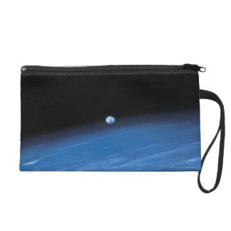 Space and the Earth Wristlet Purse