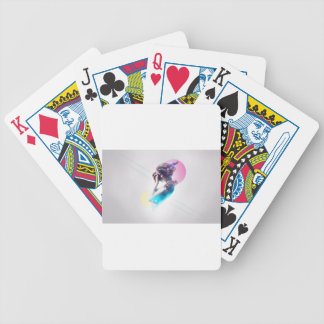 space and time odyssey bicycle playing cards