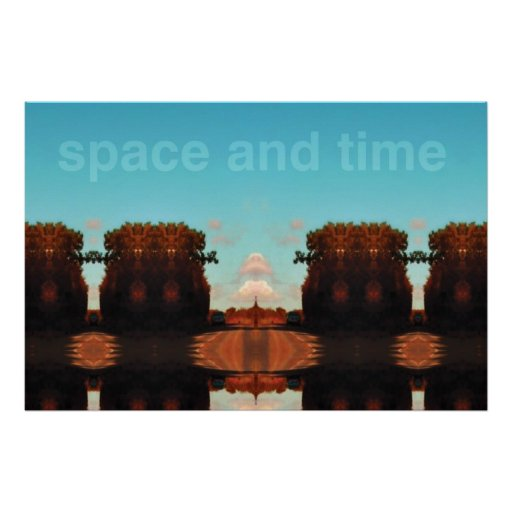 space and time posters