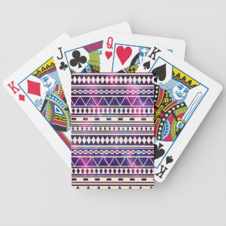 Space andes aztec bicycle playing cards