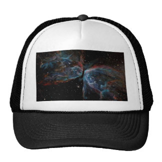 Space Art Butterfly Nebula Astronomical Painting Hat