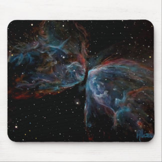 Space Art Butterfly Nebula Astronomical Painting Mouse Pad