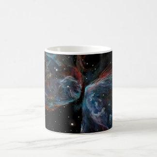Space Art Butterfly Nebula Astronomical Painting Mug