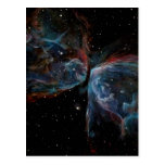 Space Art Butterfly Nebula Astronomical Painting Post Cards