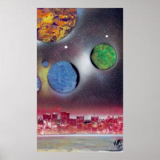 space art fantasy poster