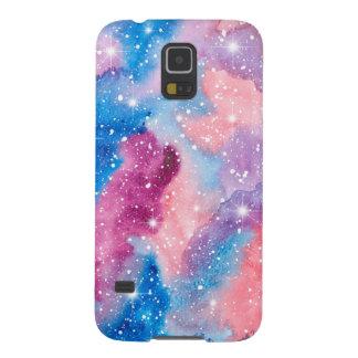 Space Art Watercolor Galaxy Case For Galaxy S5