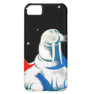 Space Astronaut Walrus iPhone 5C Cover