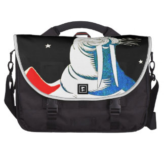 Space Astronaut Walrus Computer Bag