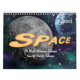 Space Astronomy Calendar 2017
