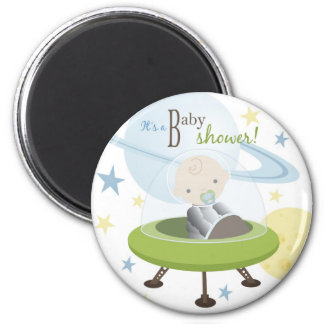Space Baby Invite Magnet B