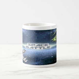 Space Battle 1 Coffee Mug