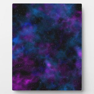 Space beautiful galaxy image plaque