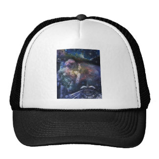 Space Behold the Galaxy Trucker Hat