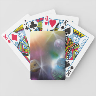 Space Bicycle Poker Cards