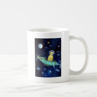 Space Bob Classic White Coffee Mug