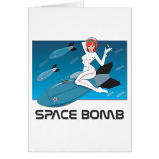 Space Bomb Card