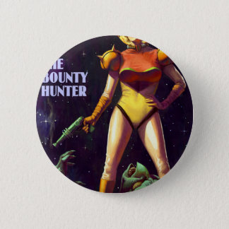 Space Bounty Hunter Pinback Button