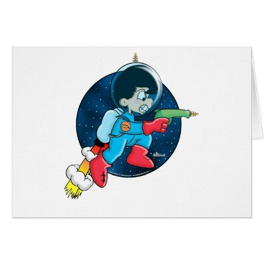 Space Boy Card