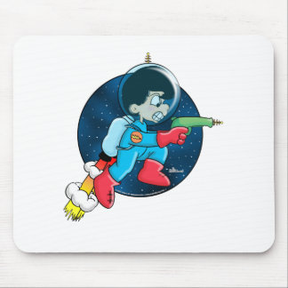 Space Boy Mouse Pad