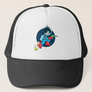 Space Boy Trucker Hat