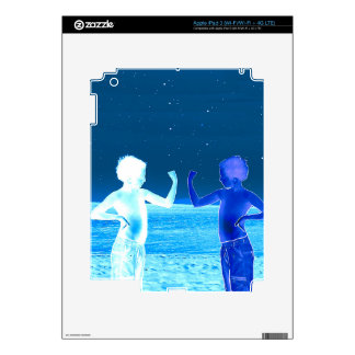 Space boys iPad 3 decals