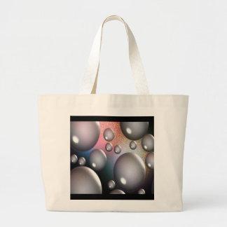 Space Bubbles Canvas Bag