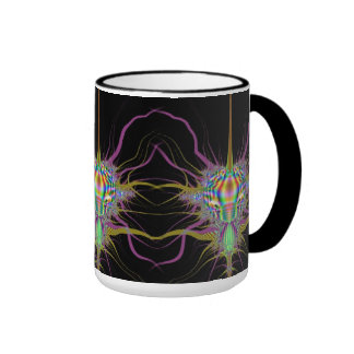 Space Bug Fractal Mug II