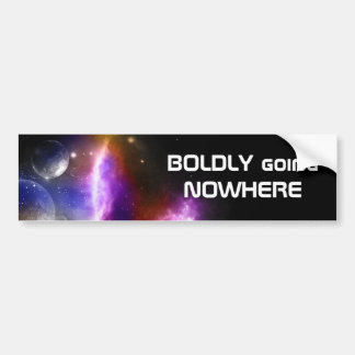 Space Bumper Sticker
