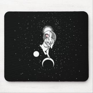 SPACE BUN MOUSE PAD