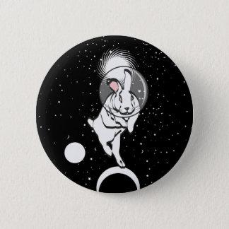 SPACE BUN PINBACK BUTTON