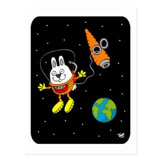 Space Bunny Postcard