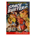Space Busters:  Charge of the Battle Women Poster