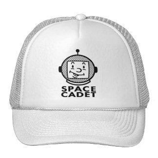 SPACE CADET - black & white Trucker Hat