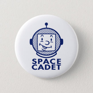 SPACE CADET - Blue Button