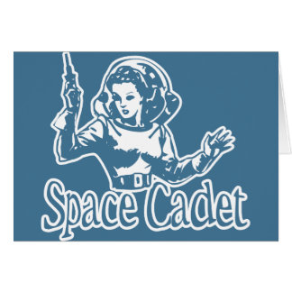 Space Cadet Blue Greeting Cards