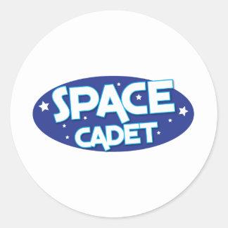 SPACE CADET CLASSIC ROUND STICKER