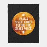 Space Cadet Fleece Blanket, Medium