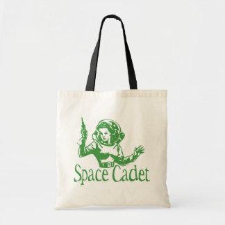 Space Cadet Green Canvas Bag