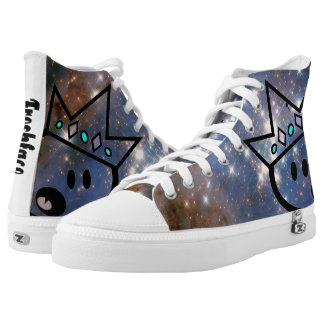 SPACE CADET  KIks Printed Shoes