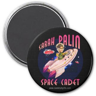Space Cadet... 3 Inch Round Magnet