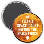 Space Cadet Magnet, Circle Magnet